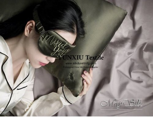 Silk pillowcase Silk Eyemask