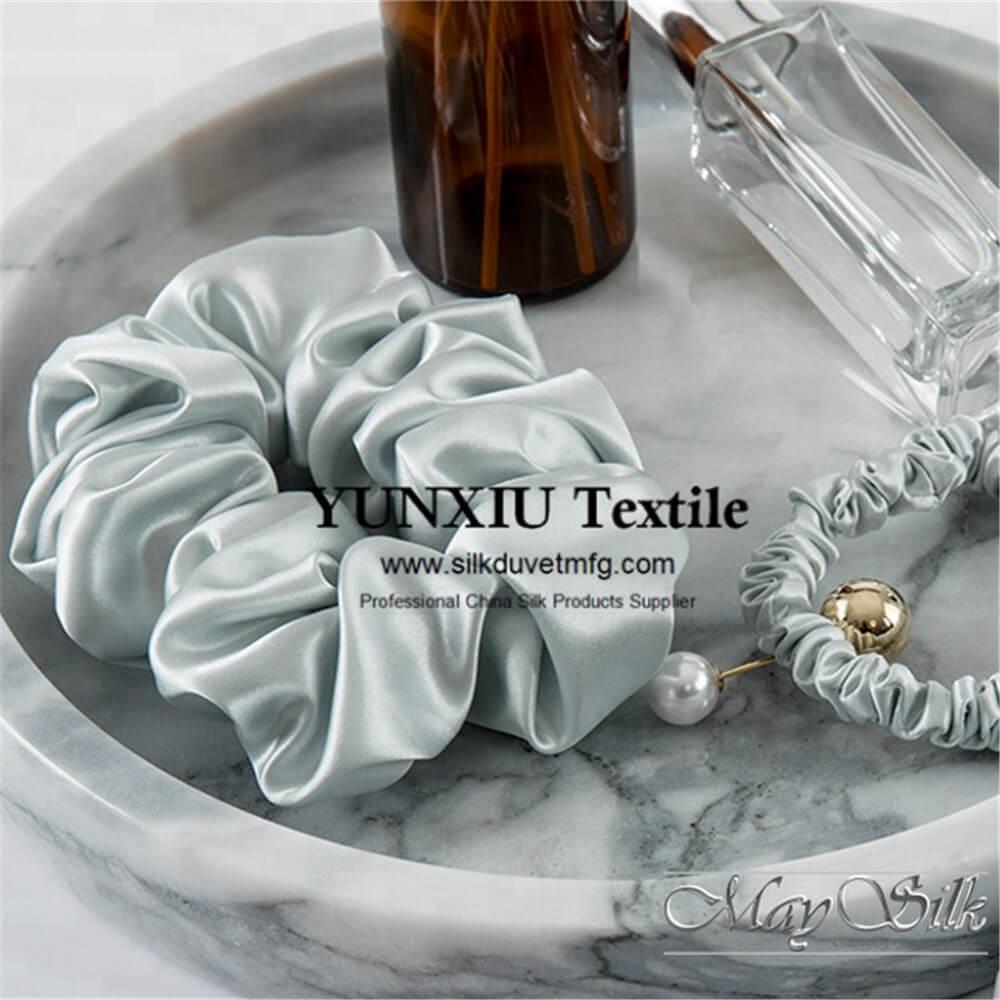 Silk scrunchies
