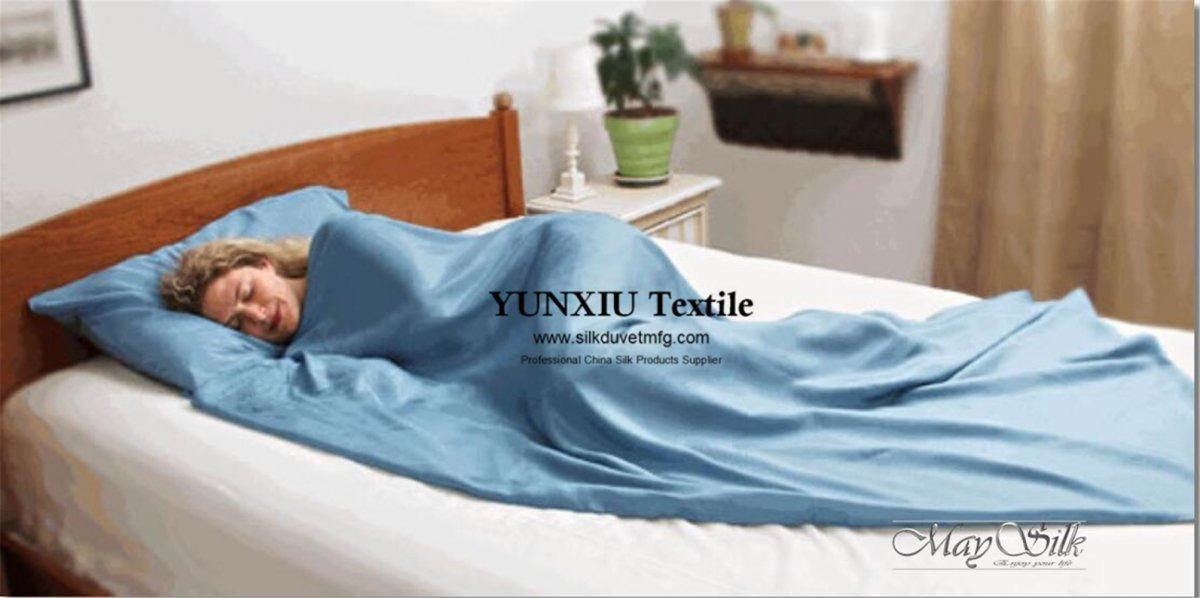 silk sleeping sac